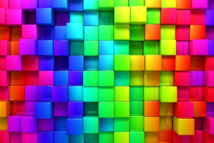 קומפוזיציה של צבעים